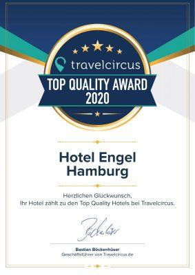 Hotel Engel Zertifikat