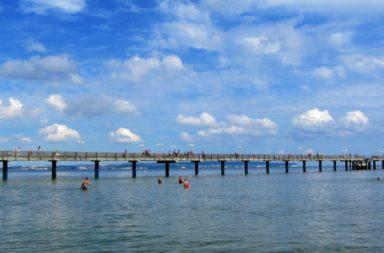 Binz Strand Seebrücke