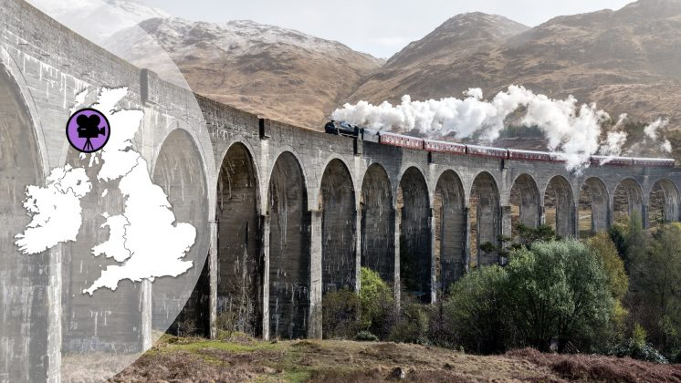 Harry Potter Travel-Guide Glenfinnan Viadukt