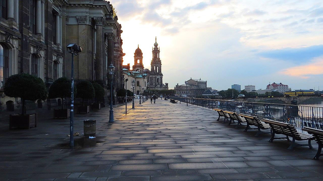 Dresden-Sehenswürdigkeiten Brühlsche Terrassen