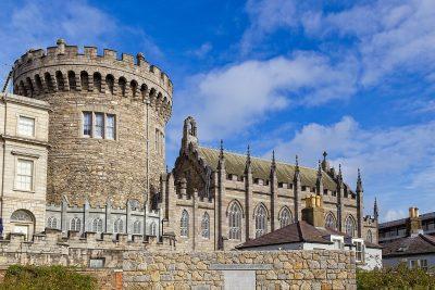 Dublin Castle und ihr mächtiger Turm