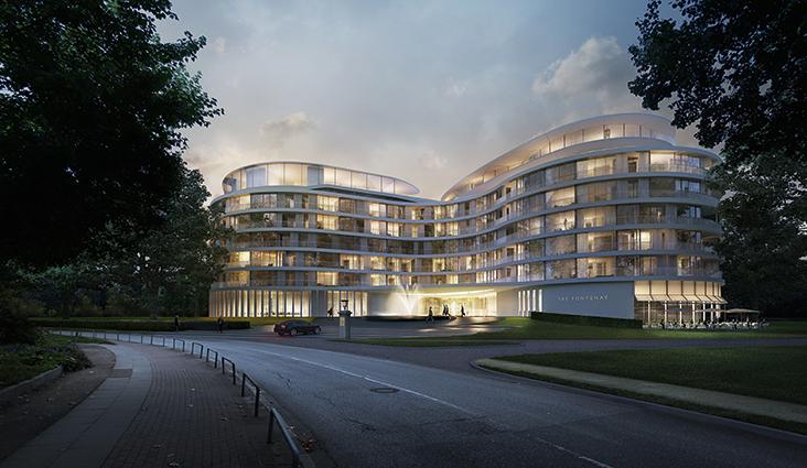 The Fontenay, 5-Sterne Luxus in Hamburg, Foto: http://www.thefontenay.de