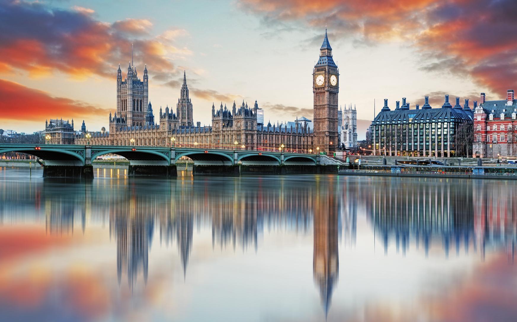 Big Ben. London Sehenswürdigkeiten.