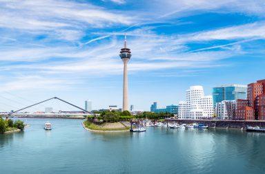 Düsseldorf Panorama