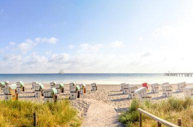 Ostseeurlaub am Strand