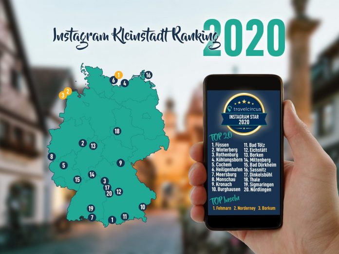 Instagram Kleinstadt Ranking 2020