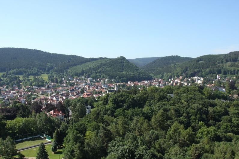 Urlaub im Thüringer Wald. Friedrichroda.