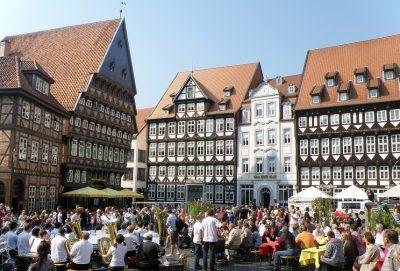 Maibaum in Hildesheim