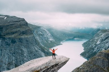 Norwegens Fjorde Aussicht