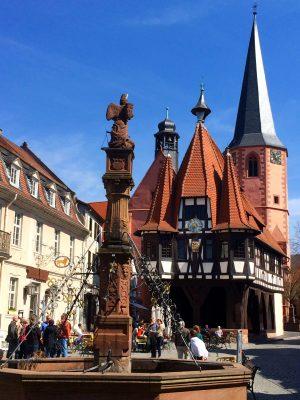 Odenwald_Michelstadt-Marktplatz