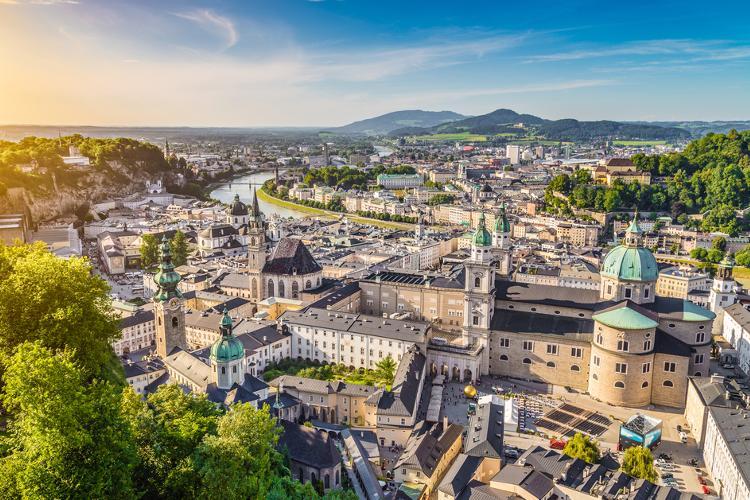 Top 5 Sehenswuerdigkeiten Salzburg. Altstadt.