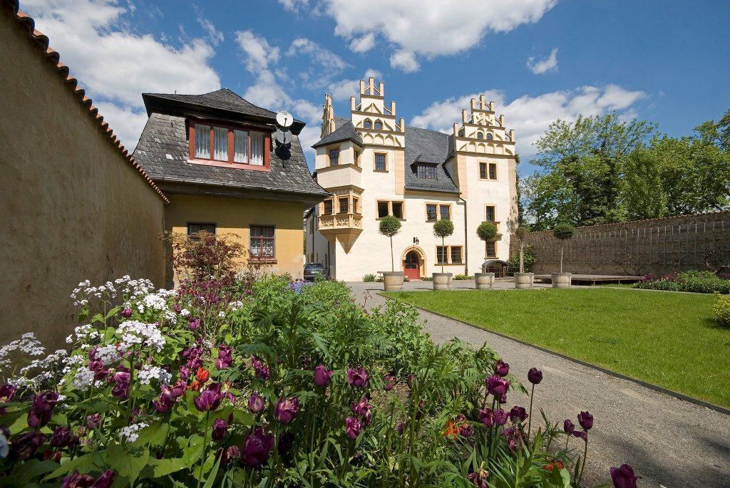 Urlaub im Thüringer Wald. Saalfeld.