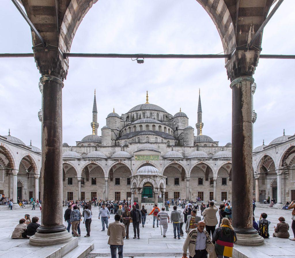 Sehenswürdigkeiten Istanbul. Blaue Moschee