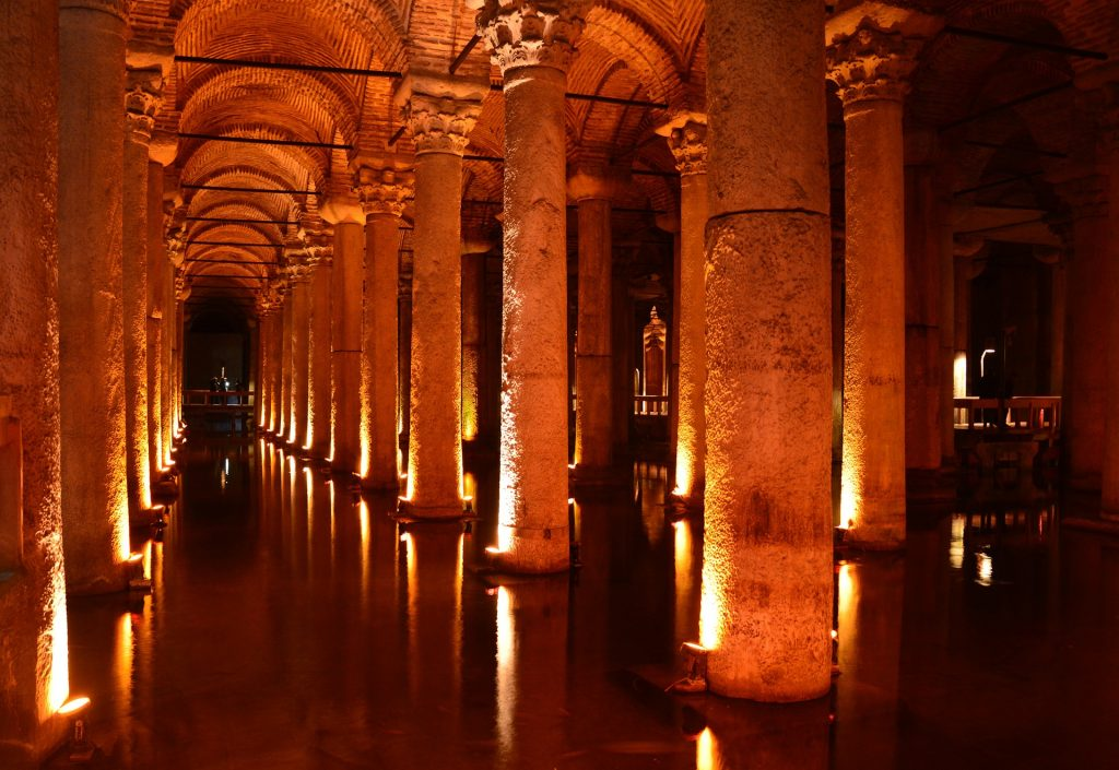 Sehenswürdigkeiten Istanbul. Cisterna Basilica.