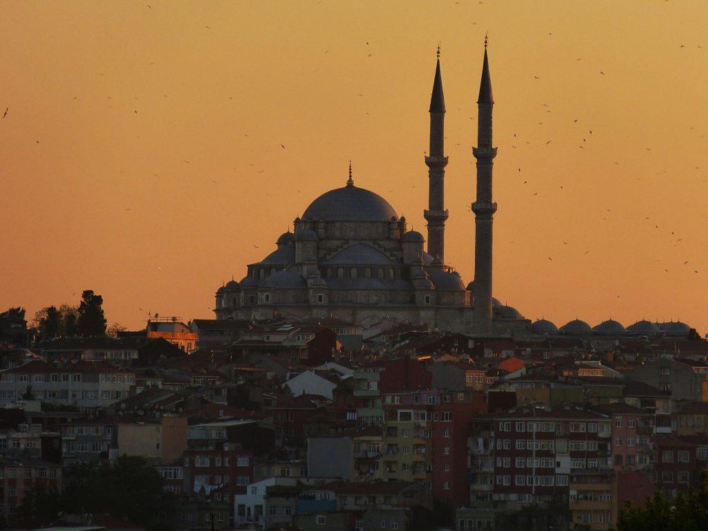 Sehenswürdigkeiten Istanbul. Süleymaiye Moschee.