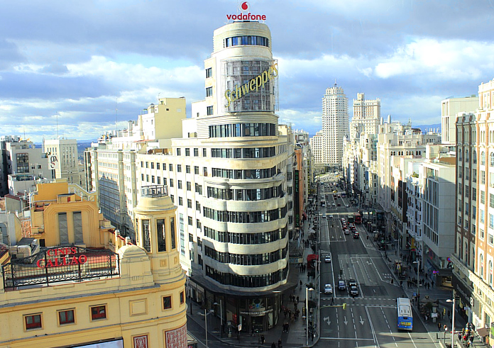 Top 10 Sehenswürdigkeiten Madrid. Gran Via.