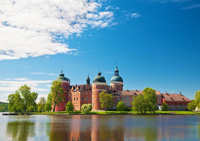 Top 10 Sehenswürdigkeiten Stockholm. Schloss Gripsholm.