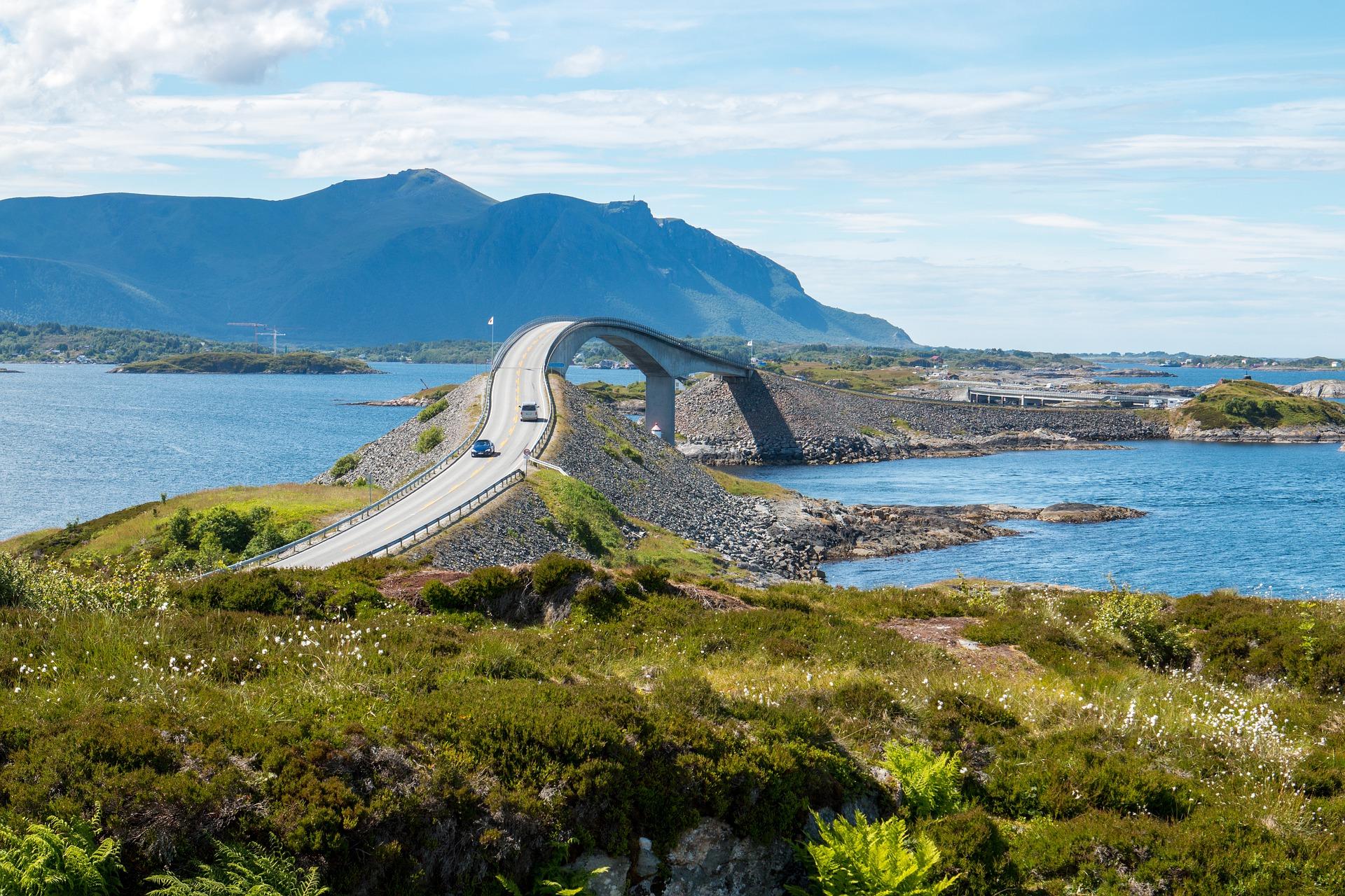 Storseisund-Brücke, Norwegen