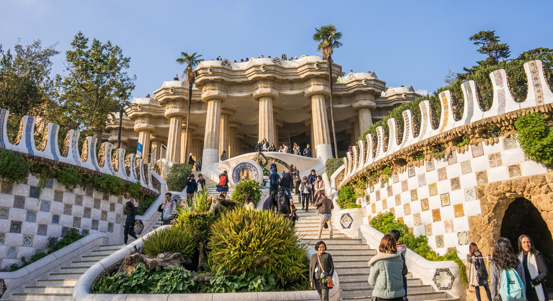 Top 10 Barcelona Gaudi Parc Guell
