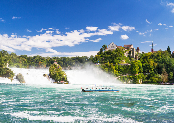 Top 10 Bodensee Rheinfälle