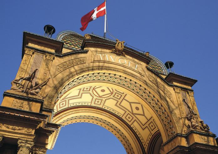 Tivoli. Top 10 Sehenswürdigkeiten Kopenhagen.