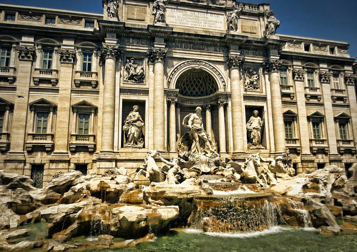 Top 10 Rom: Trevi Brunnen
