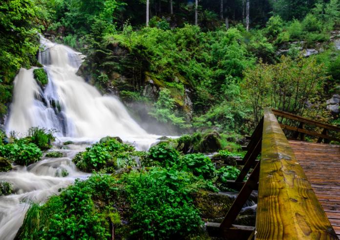 Triberger Wasserfälle. Top 10 Sehenswürdigkeiten Schwarzwald.