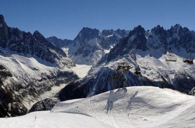 Urlaub im Januar Berge