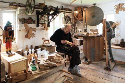 Werkstatt in Seiffen