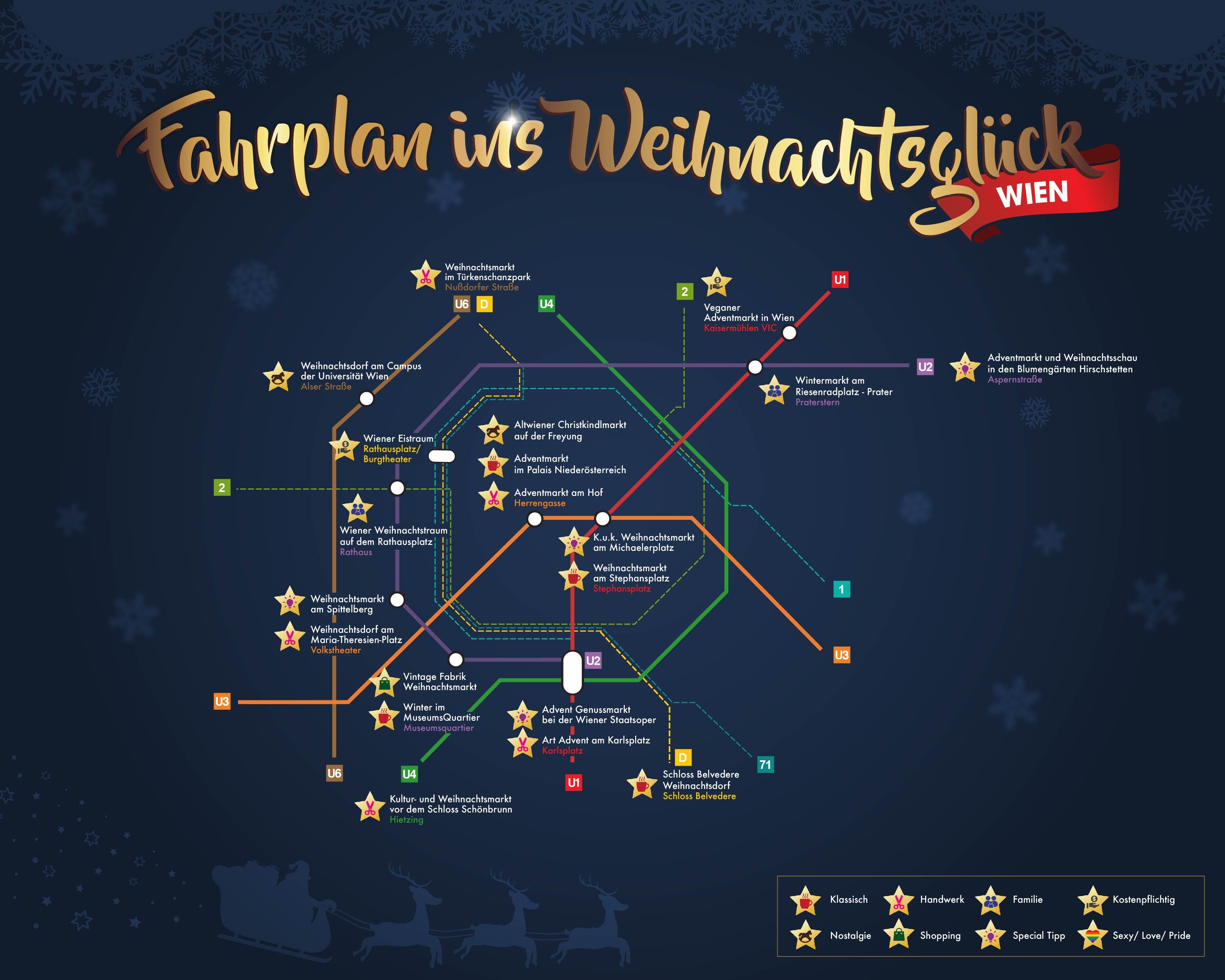Wien Weihnachtsmärkte