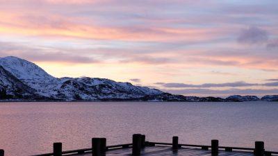 Tromsø am Abend