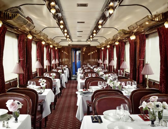 Orient-Express. Restaurant.