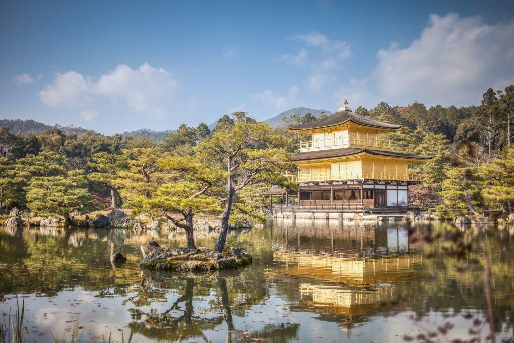 goldener Tempel-japan