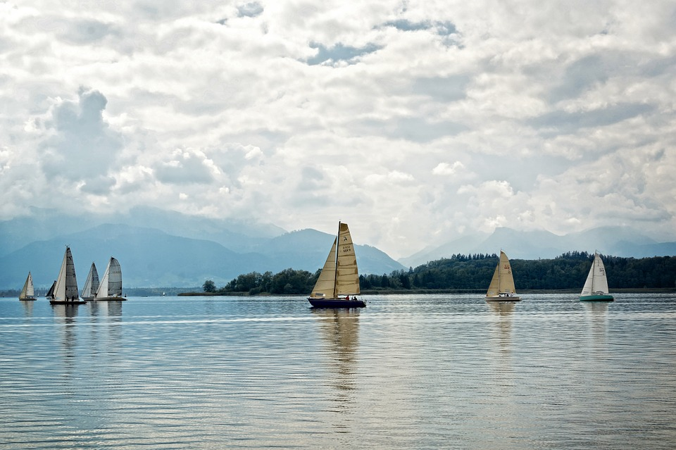 Segelboot Chiemsee