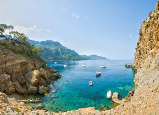 Mallorca Bucht Valdemossa Deia
