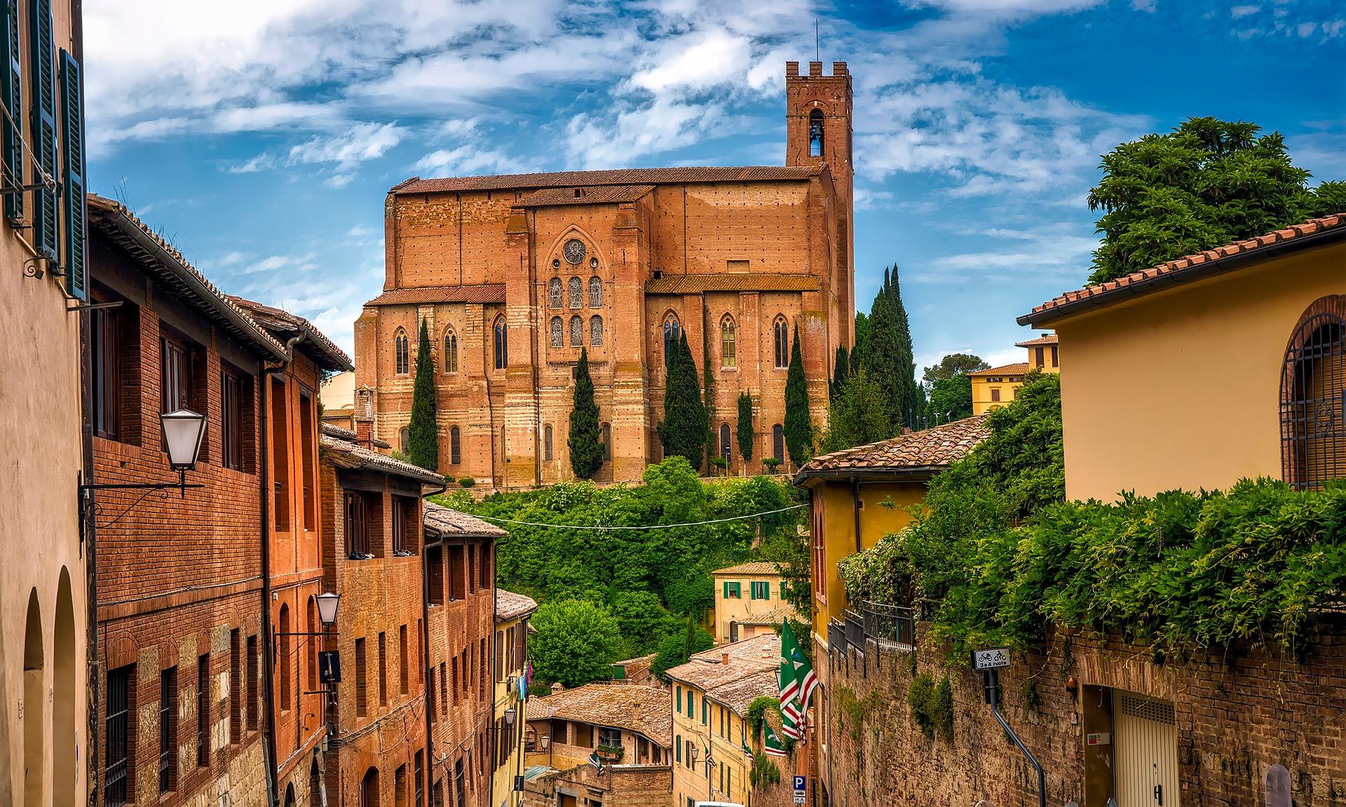 Altstadt von Siena, Toskana
