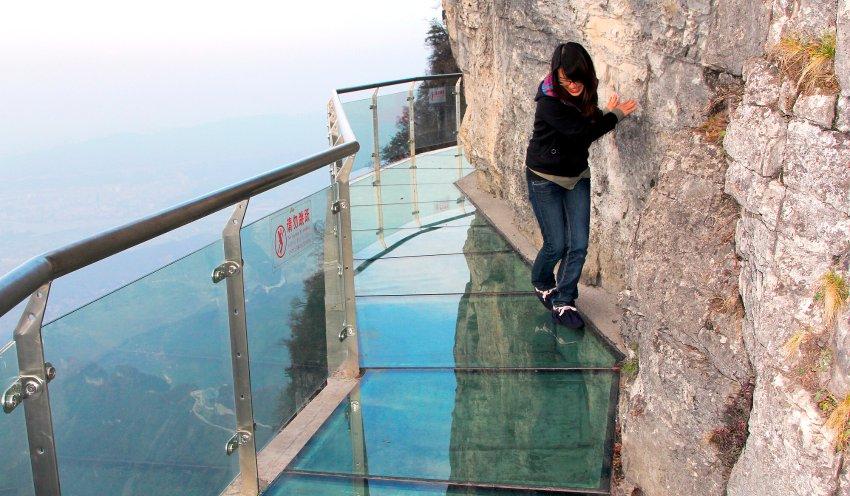 Der längste Skywalk der Welt, Foto: Ding Yunjuan/Xinhua Press/Corbis