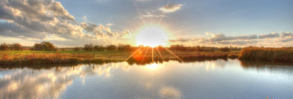 Sonnenaufgang Weserbergland
