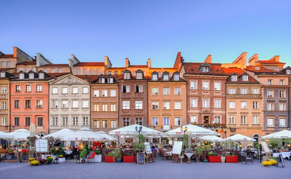 Top 10 Sehenswürdigkeiten Warschau. Altstädtischer Markt.