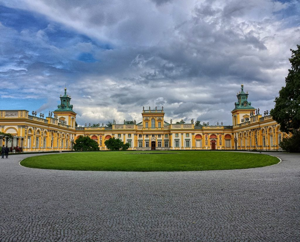 Top 10 Sehenswürdigkeiten Warschau. Wilanow Palast.